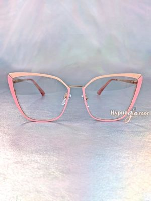 Clio Cat Eye Glasses Pink 1