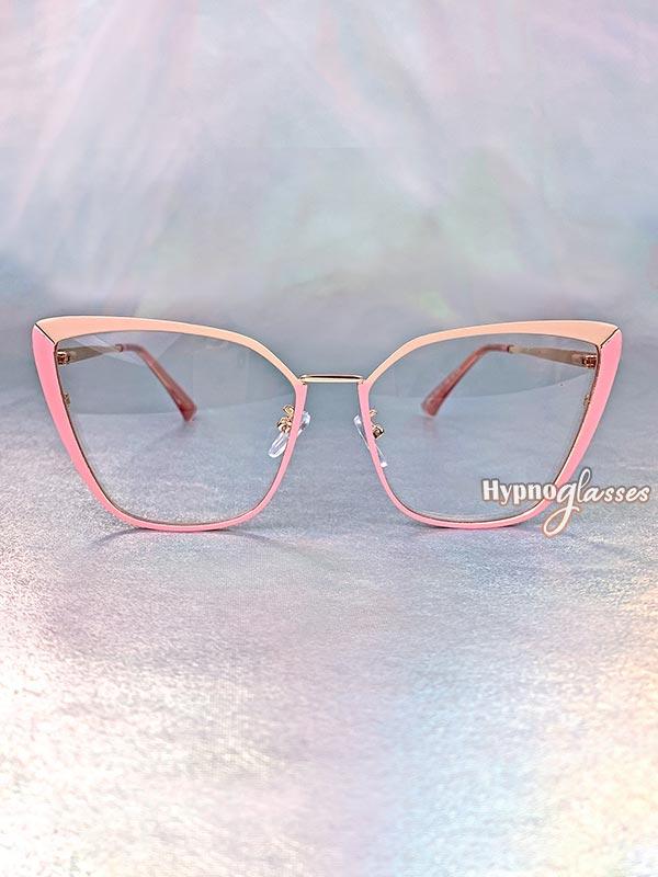 Clio Cat Eye Glasses Pink 1