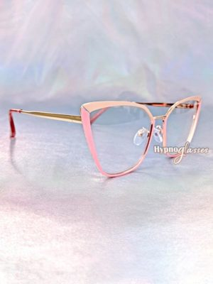 Clio Cat Eye Glasses Pink 2