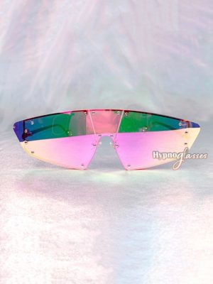 Futura Shield Sunglasses Pink Mirror 1