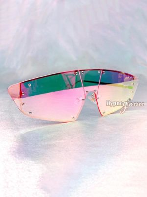 Futura Shield Sunglasses Pink Mirror 2