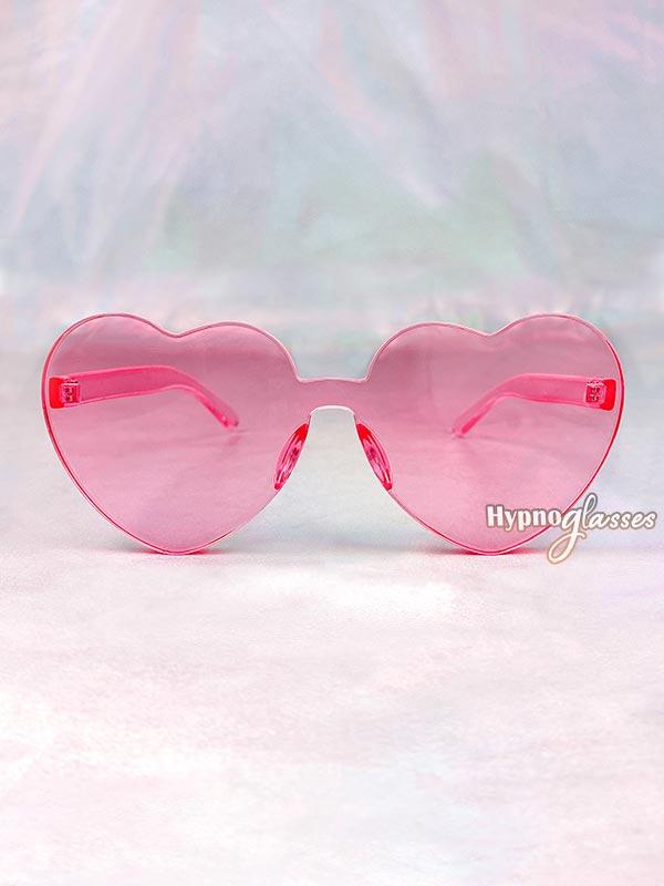 Aisha Heart Sunglasses Pink 1