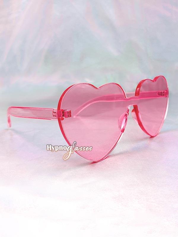 Aisha Heart Sunglasses Pink 2