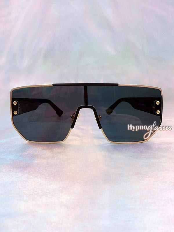Boss Square Sunglasses Black 1