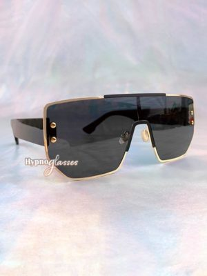 Boss Square Sunglasses Black 2