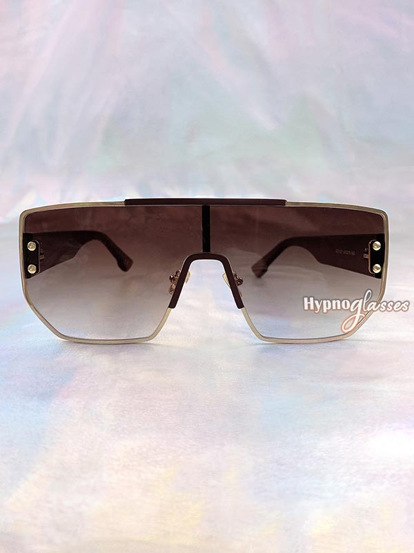 Boss Square Sunglasses Brown 1