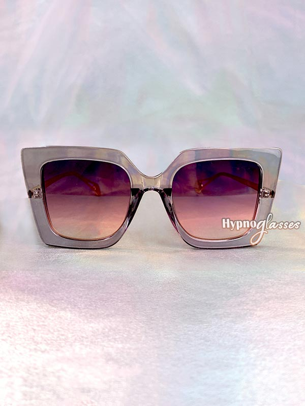 Stella Butterfly Oversized Sunglasses Purple 1