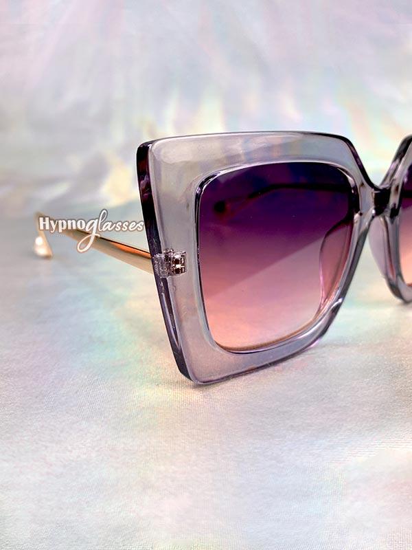 Stella Butterfly Oversized Sunglasses Purple 4