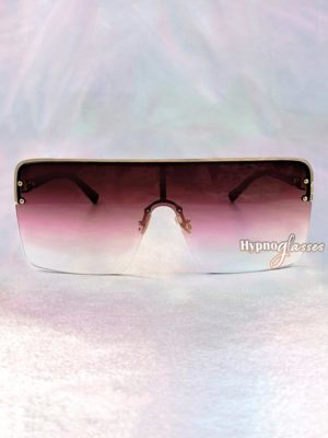 Triumph Square Sunglasses Red 1