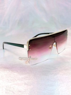 Triumph Square Sunglasses Red 2