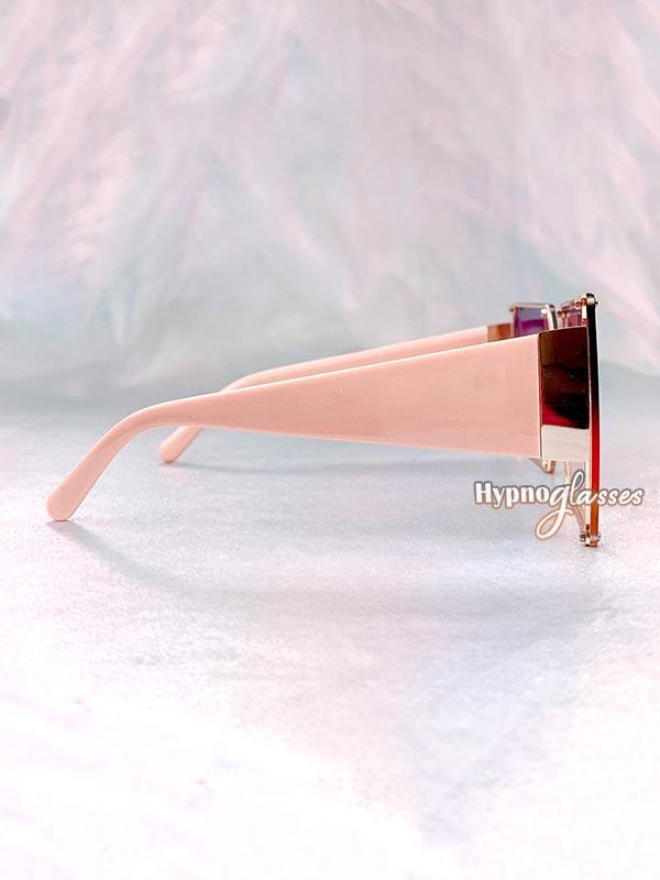 Leto Oversized Square Sunglasses Purple 3